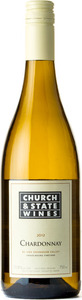 Church & State Chardonnay Gravelbourg 2012, BC VQA Okanagan Valley Bottle
