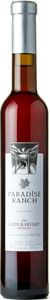 Paradise Ranch Merlot Late Harvest 2013, BC VQA Okanagan Valley Bottle