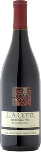 L.A. Cetto Petite Sirah 2012, Guadalupe Valley, Baja California Bottle