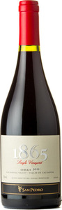 Viña San Pedro 1865 Single Vineyard Syrah 2012, Cachapoal Valley Bottle