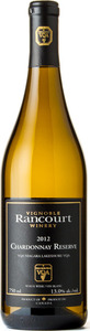 Rancourt Winery Chardonnay Reserve 2012, Niagara Lakeshore Bottle