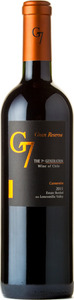 G7 The 7th Generation Gran Reserva Carmenère 2011 Bottle