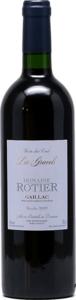 Domaine Rotier Les Gravels 2012, Ac Gaillac Bottle