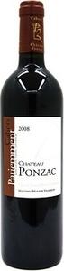 Château Ponzac Patiemment Cahors 2012 Bottle