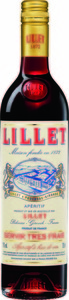 Lillet Rouge Bottle
