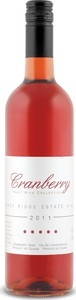 Stoney Ridge Cranberry Wine 2011, Product Of Canada Bottle