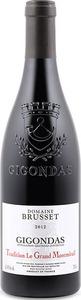 Domaine Brusset Tradition Le Grand Montmirail Gigondas 2012 Bottle