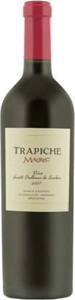 Trapiche Fausto Orellana De Escobar Single Vineyard Malbec 2005, La Consulta, Mendoza Bottle