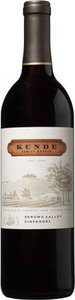 Kunde Zinfandel 2012, Sonoma Valley Bottle
