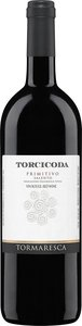 Tormaresca Torcicoda Primitivo 2012, Unfiltered, Igt Salento Bottle
