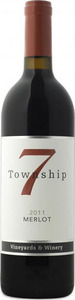 Township 7 Merlot 2010, BC VQA Fraser Valley Bottle