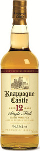 Knappogue Castle 12 Year Old Single Malt Irish Whiskey, Aged In Bourbon Oak Casks Bottle