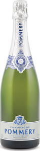Pommery Brut Silver Champagne Bottle