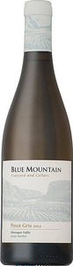 Blue Mountain Pinot Gris 2013, Okanagan Valley Bottle