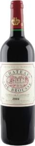 Château De Brousse 2009, Côtes De Castillon Bottle