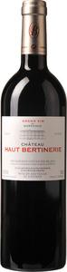 Château Haut Bertinerie Elegance Merlot/Cabernet 2010, Ac Côtes De Bordeaux, Blaye Bottle