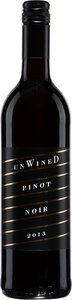 Unwined Pinot Noir 2012 Bottle