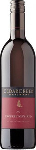 CedarCreek Proprietor's Red 2010, BC VQA Okanagan Valley Bottle