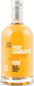 Port Charlotte Scottish Barley Heavily Peated Islay Single Malt Scotch Whisky Bottle