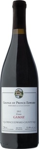 Grange Of Prince Edward Gamay Noir 2012, VQA Prince Edward County Bottle