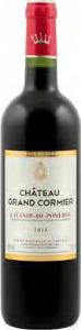 Château Grand Cormier 2011, Ac Lalande De Pomerol Bottle