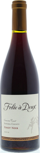 Folie À Deux Pinot Noir 2012, Sonoma Coast Bottle