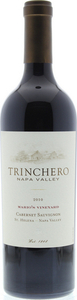 Trinchero Mario's Vineyard Cabernet Sauvignon 2009, Napa Valley Bottle