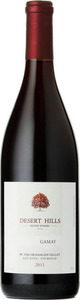 Desert Hills Gamay 2012, BC VQA Okanagan Valley Bottle