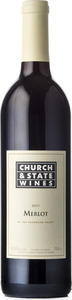 Church & State Merlot 2010, BC VQA Okanagan Valley Bottle