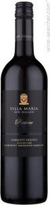 Villa Maria Reserve Cabernet Sauvignon Merlot 2010, Gimblett Gravels Hawkes Bay Bottle