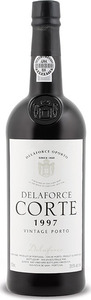 Delaforce Quinta Da Côrte Vintage Port 1997, Dop Bottle