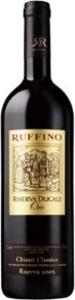 Ruffino Ducale Oro Chianti Classico Riserva 2001, Docg Bottle
