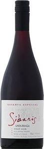 Undurraga Sibaris Reserva Pinot Noir 2012 Bottle