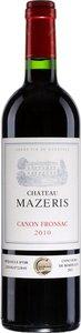 Château Mazeris 2006, Ac Canon Fronsac Bottle