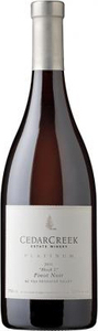 CedarCreek Platinum Block 2 Pinot Noir 2012, VQA Okanagan Valley Bottle