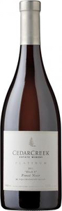 CedarCreek Platinum Block 4 Pinot Noir 2012, Okanagan Valley Bottle