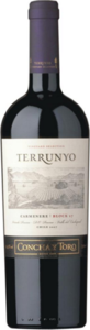Concha Y Toro Terrunyo Vineyard Selection Cabernet Sauvignon 2011, Block Las Terrazas, Pirque Vineyard Bottle