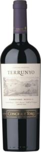 Concha Y Toro Terrunyo Vineyard Selection Cabernet Sauvignon 2011, Block Las Terrazas, Pirque Vineyard Bottle