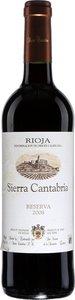 Sierra Cantabria Reserva 2008 Bottle