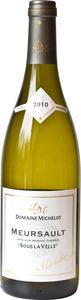 Domaine Michelot Buisson Meursault Sous La Velle 2010 Bottle