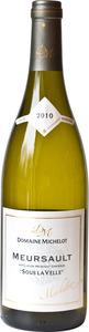 Domaine Michelot Buisson Meursault Sous La Velle 2011 Bottle