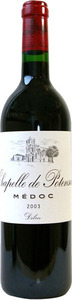 Chapelle De Potensac 2007, Ac Médoc Bottle