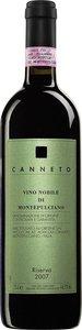 Canneto Riserva 2009, Vino Nobile Di Montepulciano Bottle