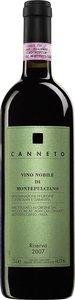 Canneto Riserva 2007, Vino Nobile Di Montepulciano Bottle