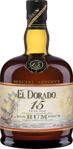El Dorado 15 Year Old, Guyana Bottle