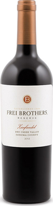Frei Brothers Reserve Zinfandel 2012, Dry Creek Valley Bottle