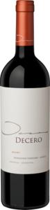 Finca Decero Remolinos Vineyard Malbec 2012, Agrelo, Mendoza Bottle