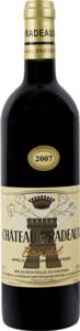 Château Pradeaux 2007, Bandol Bottle