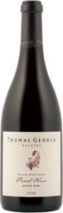 Thomas George Estates Pinot Noir 2011, Russian River Valley, Sonoma County Bottle