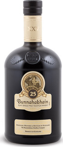 Bunnahabhain 25 Year Old Single Malt, Natural Colour, Unchillfiltered (700ml) Bottle